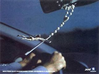 How to tell if a Catholic is driving too fast